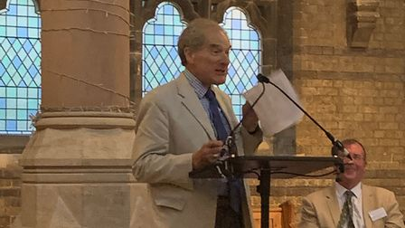 Lord Mance addresses the AGM of the Heath and Hampstead Society at St Stephen's Church