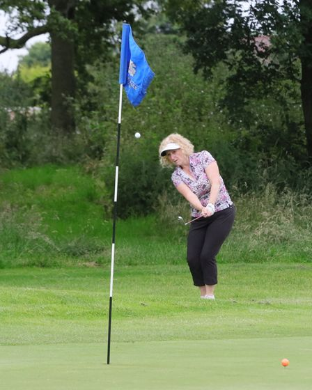 Action shots from Brookmans Park Golf Club
