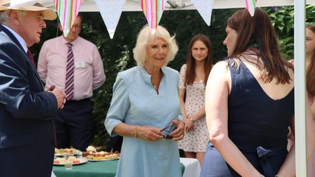 The Duchess of Cornwall visits Children's Hospice South West's Little Bridge House in Fremington