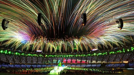 The closing ceremony of the London 2012 Olympics. Picture: John Stilwell/PA