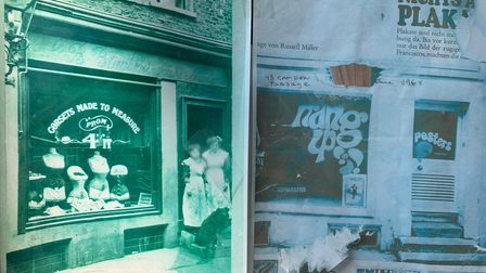 The shop has been in various incarnations over the years