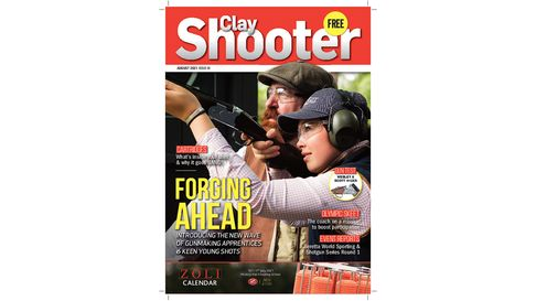 clay shooter magazine august front cover