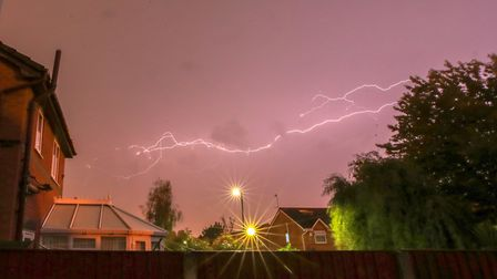There could be thunderstorms in St Albans and Welwyn Hatfield this weekend.