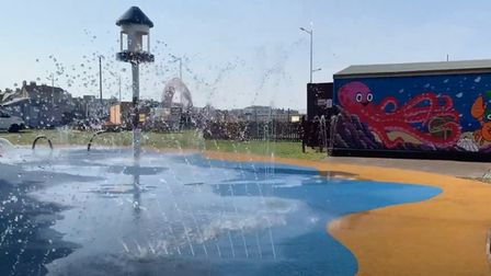Water Adventure Play Park switches on water for first time in years