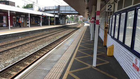 Trains in and out of St Albans City station will be reduced from next week.