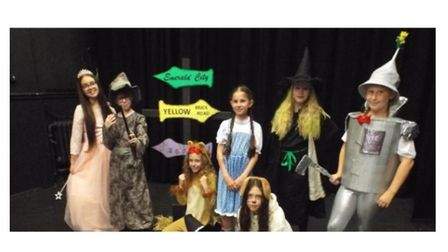 From left to right:Abigail, Kris, Millie, Lily-Leigh, Amber, Georgia and Mia.