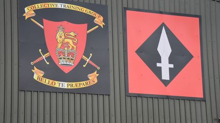 The state-of-the art Mission Ready Training Centre, at Bassingbourn Barracks