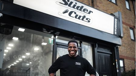 Slider Cuts founder and top barber Mark Maciver.