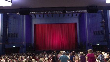Audiences at theAnton and Giovanniperformance at Regent Theatre in Ipswich