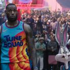 LeBron James and Bugs Bunnyin Warner Bros. Pictures' animated/live-action adventure Space Jam: A New Legacy.
