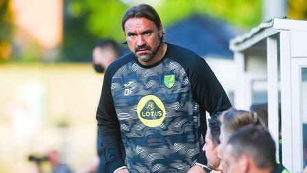Norwich City head coach Daniel Farke did not have his head turned by other offers this summer