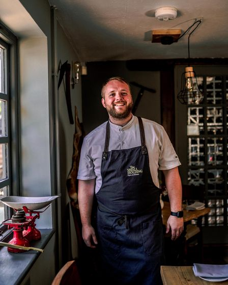 Will Devlin, chef owner of The Curlew in Bodiam