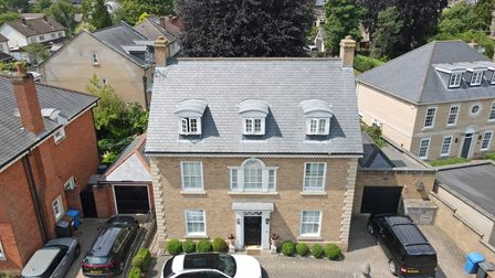 Thishome in Vermont Crescent, Ipswich, is on the market with Fine & Country and has a guide price of £975,000