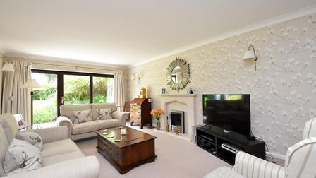 Pne of the interiors of the property in Rushmere Road, Ipswich, on the market for £775,000