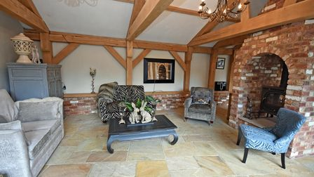 An interior view of this home in Henley Road, Ipswich, on the market with Fine & Country