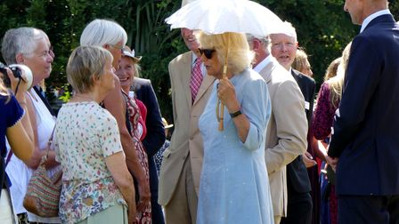 HRH The Prince of Wales and HRH The Duchess of Cornwall visit The Burton at Bideford Art Gallery and Museum