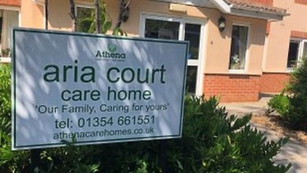 Aria Court Care Home in March had 17 Covid deaths, a CQC report revealed.