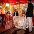 A traditional Hindu wedding took place at the Namaste Village restaurant in Norwich on Freedom Day as restrictions eased