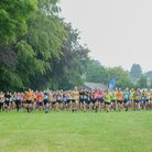The Totnes10K race is nearly all off road