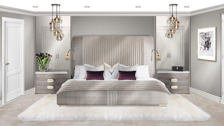 Juliettes Interiors in Chelsea produce scaled designsto create visions of each room for their clients.