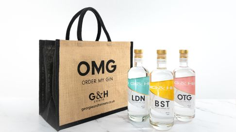 The G&H Spirits My TimeNow gin gift set is worth £114