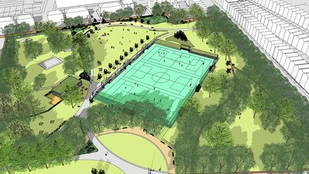 Islington Council has come under fire for their placement of the pitches.