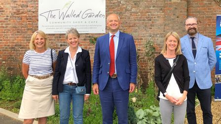 Jerome Mayhew vowed to raise the Flatland issue with the secretary of state during a visit to the Walled Garden