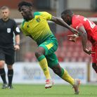 Rocky Bushiri has linked up with Blackpool on loan Picture: George Phillipou/TGS Photo