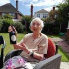 Margery Millican, from Great Yarmouth, celebrated her 100th birthday on July 21.
