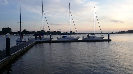 Suffolk-built yachts return to Oulton Broad