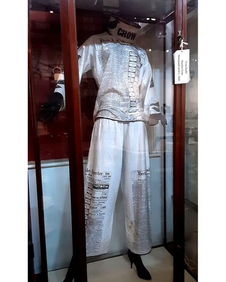 Royston Crow outfit from 1960 in Royston Museum