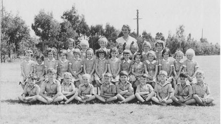 Colin and Nigel atKilimani Primary School in Nairobi in the 1950s