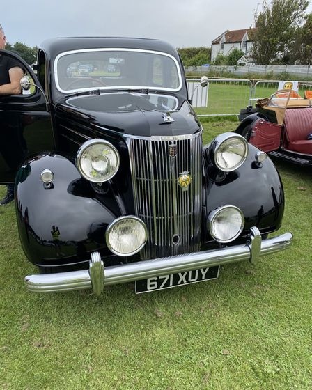 The V8 Pilot, which received a special prize at the show