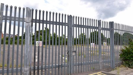 An application to build a school on the former BT depot site near Woodbridge Road in Ipswich