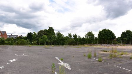 The site has been empty for many years