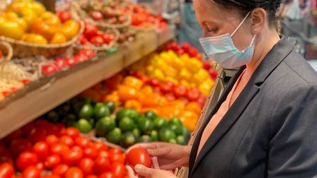 Are you continuing to wear a facemask when shopping?