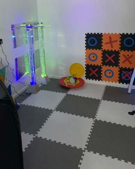 It is hoped the sensory roomwill also offer a work-experience/training opportunity for young people with SEND