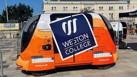 VIDEO: Self-driving pods used in Weston