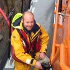Matthew Rowe, who has passed out as a fully qualified RNLI mechanic