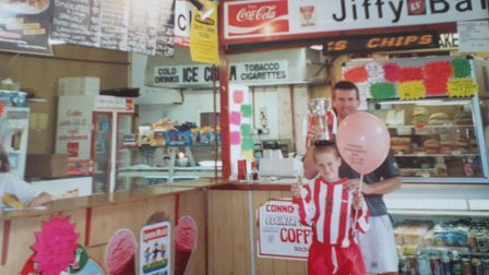 The Jiffy Bar, which was run by Lil and Roy Aspland for 30 years