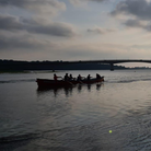 Barnstaple Pilot Gig Club held a series of inter-club races on the Taw