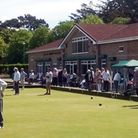 A view of Clarence Bowls Club