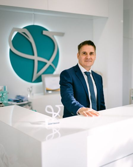 Dr Liakas, medical director at Vie Aesthetics Clinic in Essex.