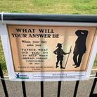 Sprowston Town Council's Covid poster has come in for plenty of criticism