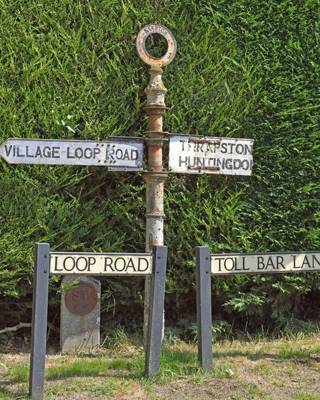 Keyston is a village with an interesting history.