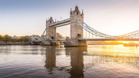 Cruise past Tower Bridge on the Tilbury to London Uber Boat this August.