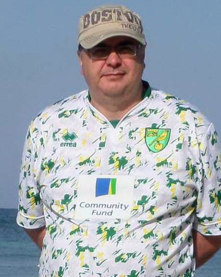 Norwich City supporter Andrew Beasley has died