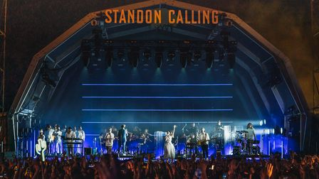 Standon Calling 2021 headliners Bastillewere joined onstage by rising superstar Griffduring their ReOrchestrated show.