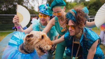Pet dogs were welcome at Standon Calling Festival 2021.