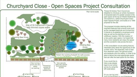 Thorpe St Andrew Town Council has been asking the public about a new nature reserve at the Hillside Allotments